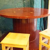 お子様連れのご家族様が多くご利用されるテーブル席。