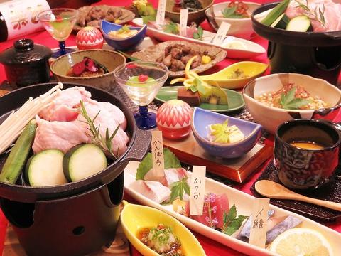 ROKUMON宴会コースがリニューアル♪2H飲み放題付9品4400円!(税込) 平日クーポン利用で550円引