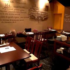 1階には4名様×1のテーブル席をご用意しております!美味しいステーキやワインを楽しみながら女子会や誕生日、大切な方との記念日や宴会、パーティーに是非ご利用下さい。※設備・サービスのご利用に関してはお気軽にお店に直接お問い合わせください。