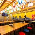 ●【福岡魚市場直送認定店!】『テーブル席・カウンター席・立ち飲み席』完備!博多の海鮮料理・郷土料理をご堪いただけます!カウンター席も完備しておりますので、お一人様からご利用お待ちいたしております。●ランチ・昼飲み・デート・誕生日・記念日・飲み会・お祝いに是非御利用ください!