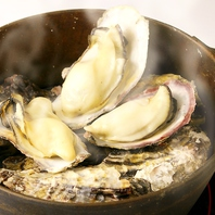 【熱々ジューシーな牡蠣が旨い♪♪】