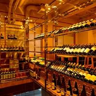 ■大型ワインセラーを完備!