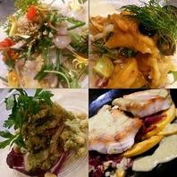 青森県鮮魚のお料理の数々