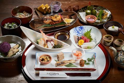 会席料理「芭蕉(芭蕉)」コース6,000円(税込)【※飲み放題付き】