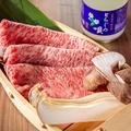 料理メニュー写真焼きしゃぶ(野菜付き)