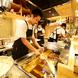 目の前で揚げたてサクサクの天ぷらをご提供!