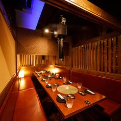 《新宿個室肉バル》BOX席は多数ご用意!お客様のニーズに合わせたお席をご用意可能♪3時間コースは2980円~ご用意♪当店自慢のコースをご用意しておりますので、ぜひ一度ご賞味あれ♪