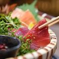 産直鮮魚やこだわりの一品料理も290円からリーズナブルにご用意しております。
