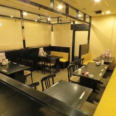 【テーブル半個室】変幻自在!テーブル席は宴会の人数によって半個室をご用意いたします!