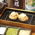 料理メニュー写真しいたけガーリックバターの天ぷら