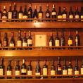 ワインの並ぶお洒落な店内♪