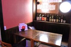 【1階】掘りごたつ※3名席…1テーブル、4名席…1テーブルあります。(テーブル結合可)