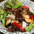 料理メニュー写真牛肉の黒コショウ炒め