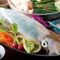 【博多喰い道楽】魚市場から直接仕入れた鮮魚
