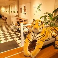 大きなトラがお出迎え♪