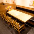 【小伝馬町】簡単に席替えできるテーブル席!急な人数変更も柔軟に対応致します♪ <焼き鳥/居酒屋/宴会>