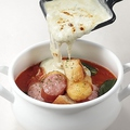 料理メニュー写真太陽のチーズラーメンWIHT贅沢ゴルゴンフォンデュ