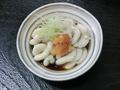 料理メニュー写真タラの白子ポン酢/白子の天婦羅/白子の味噌焼き