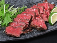 肉料理一押し【牛さがりステーキ】800円