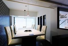 2階にある半個室タイプのお席。広々とした開放的な空間と、落ち着いたデザインに心も癒されますよ♪様々なシーンにご利用していただきやすいお席となっております。先着順ですのでお早めに!!
