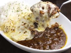 料理メニュー写真トライアングル焼きチーズカレー