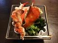 料理メニュー写真渡り蟹の酢の物