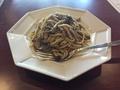 料理メニュー写真玄米スパゲッティ・きのこジェノベーゼ