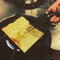 料理は全て手作り!充実のアラカルトメニュー!