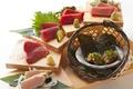 料理メニュー写真まぐろのお造り6種盛り