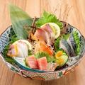 料理メニュー写真おまかせ刺身盛合わせ 小(4種盛り)