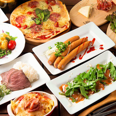 #肉とチーズがおいしいお店 食べ飲み放題 個室 GUMのコース写真