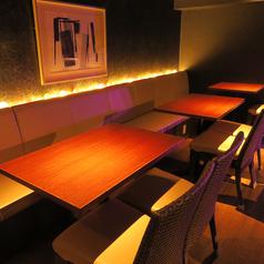 ~ソファテーブル席~大人数でのご利用が可能なテーブル席となっております。