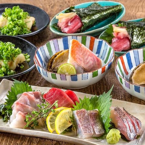 伊豆諸島産 金目鯛が味わえる定番の逸品コース《全8品》3500円(税込)