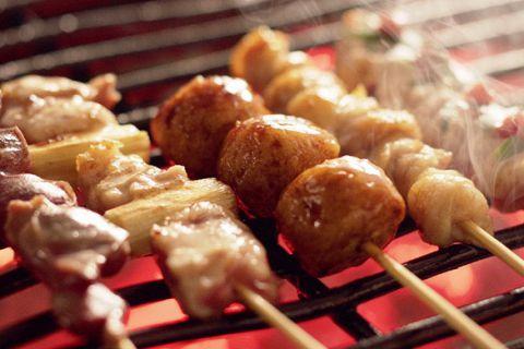 「本格炭火焼」炭・タレ・素材にこだわる絶品の串を堪能下さい♪宴会コースも充実!!