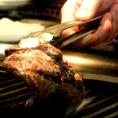 【目の前で焼き上げる】がっつりお肉をお手頃に!カウンター前で焼き上げます!肉食女子におすすめ☆