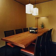 【8名様用の個室】大切な方のお祝いの宴や、接待にもファミリーのご宴会にもお使いいただけます。