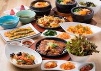 韓国を食べつくせ!多種多様なお料理をご用意♪