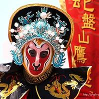 大型宴会に注目!!中国伝統舞踊『変面』サービスあり♪