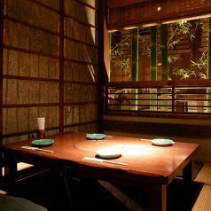 人気の個室。接待や大切な会食に最適です。