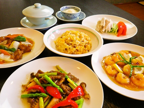 リーズナブル&ボリュームたっぷりの中華料理☆ゆったりしたお座敷で宴会もできます!