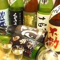 広島の地酒はもちろん、全国各地の日本酒を取り揃えております。