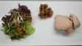 料理メニュー写真フォアグラと白レバーのパテ