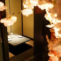 何名様でも完全個室☆落ち着いた雰囲気でお食事、各宴会をご堪能ください!人数・ご予約に関してお気軽にお問合せください!