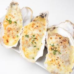 料理メニュー写真牡蠣のオーブン焼き(3個)