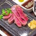 料理メニュー写真黒毛和牛らんいちステーキ(A4)