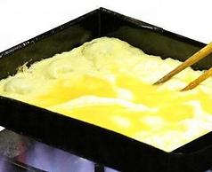 ブランド卵「つまんでご卵」のだし巻玉子/明太チーズ玉子焼き