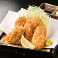 料理メニュー写真広島産 牡蠣フライ