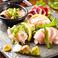 "2.5h、3h飲み放題付き宴会プラン♪ ¥4,500~名物の""鶏すき鍋""を味わえます。"