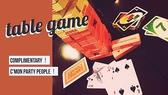 トランプやUNO、ジェンガなどテーブルゲームを豊富に揃えております☆ご自由にお使い下さい♪