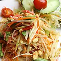 現地の本格タイ料理・でも辛さの調節は柔軟に